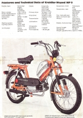 Kreidler 1977-80 Flory (made in Germany)