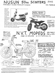 NVT Easy Rider (made by Norton Villiers Triumph)