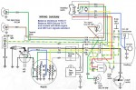 Batavus VA, HS50 deluxe w/turn sigs 1976-78, M48 eng