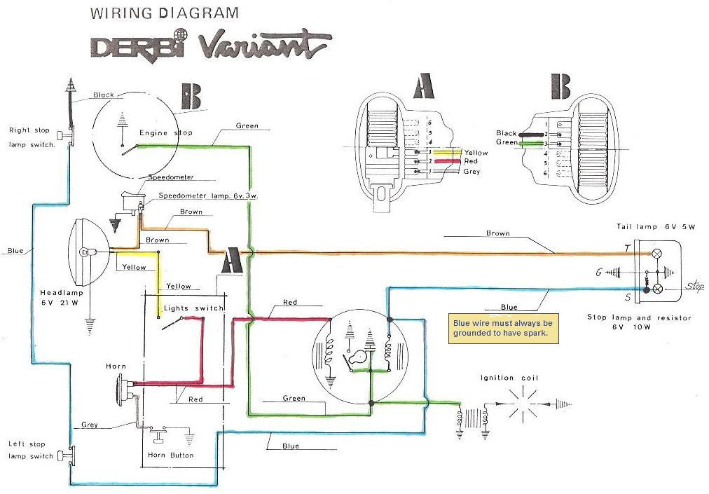 derbi variant wiring diagram cj