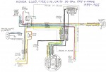 Honda C100 Wiring Diagram 150x102 wiring diagrams myrons mopeds 1978 honda pa50 wiring diagram at gsmx.co