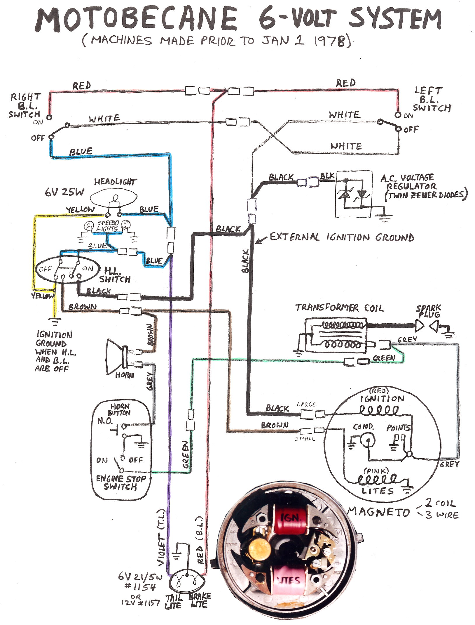 re weird moby 40t electrical issue moped army wiring schematics re weird moby 40t electrical issue
