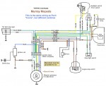 wiring diagrams  myrons mopeds murray wiring same as puch