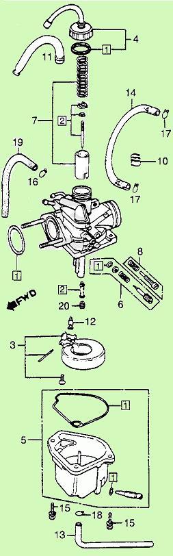 Keihin Pb Carburetor Diagram Wiring Diagram Database