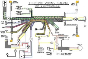 wiring diagrams myrons mopeds  sachs moped wiring diagram #7