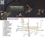 General Wiring Harness (top tank Minarelli eng)