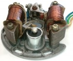 Indian WTEMCO 2-coil magneto