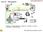 wiring diagrams acirc myrons mopeds jawa 210 wiring no turn signals model