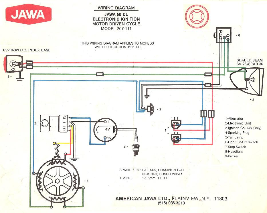 Jawa-50-DL-207-111-1978-79 Jawa Moped Wiring Diagram on puch moped wiring diagram, tomos moped wiring diagram, kinetic moped wiring diagram, sachs moped wiring diagram,
