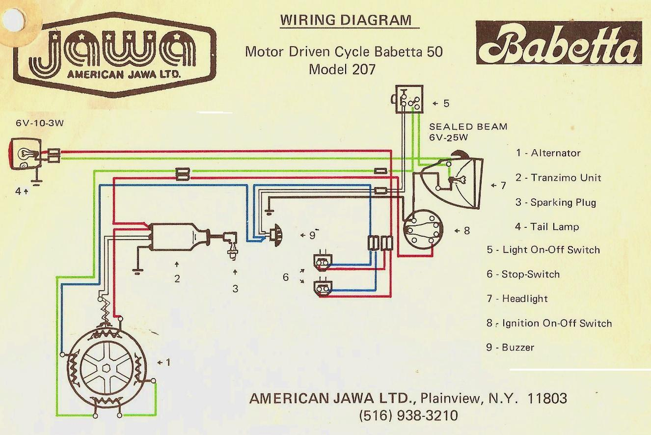 Jawa-tta-207-011-1976-77 Jawa Moped Wiring Diagram on puch moped wiring diagram, tomos moped wiring diagram, kinetic moped wiring diagram, sachs moped wiring diagram,