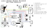 wiring diagrams acirc myrons mopeds jawa wiring diagram no turn signals model