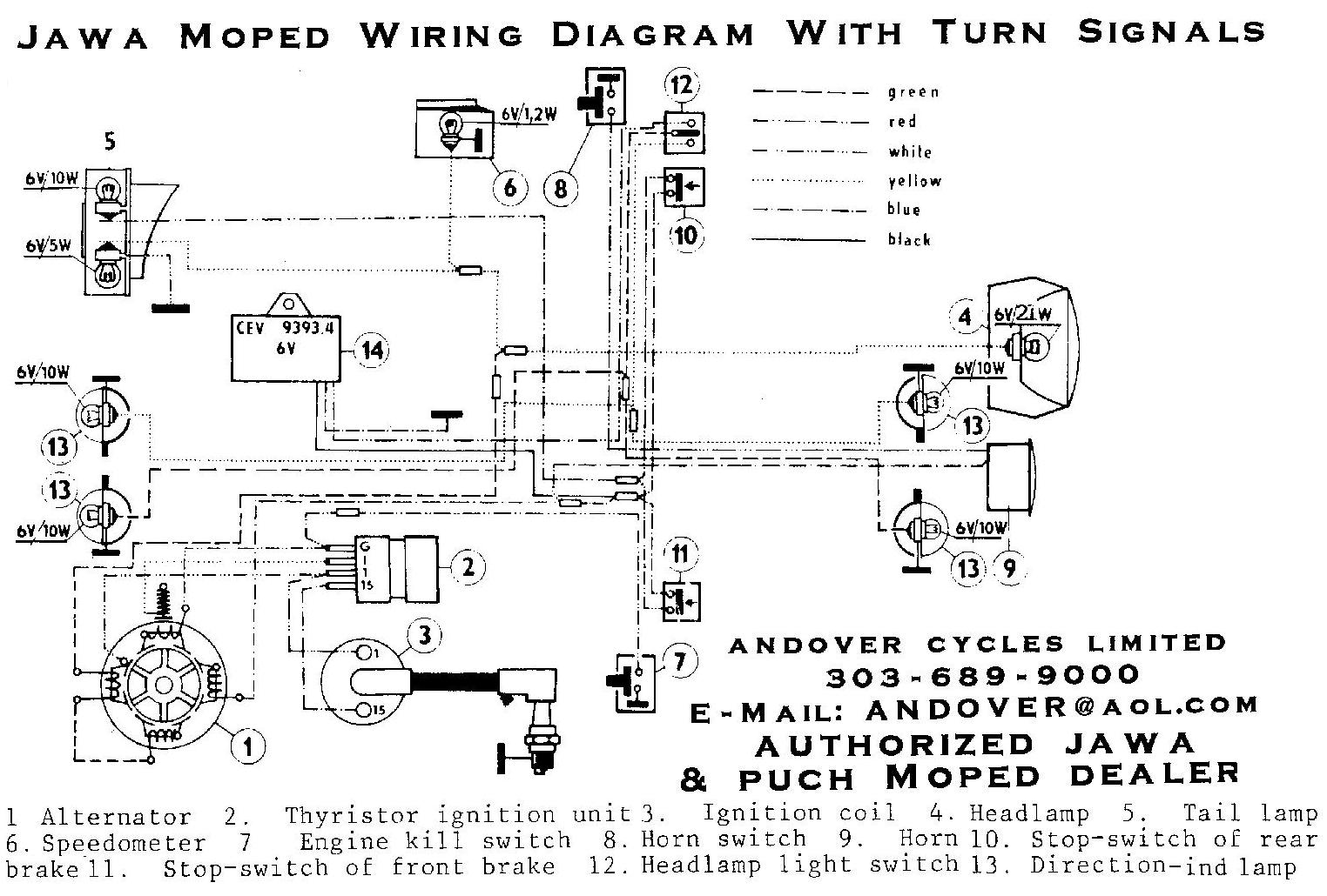 Jawa-with-Blinkers Jawa Moped Wiring Diagram on puch moped wiring diagram, tomos moped wiring diagram, kinetic moped wiring diagram, sachs moped wiring diagram,