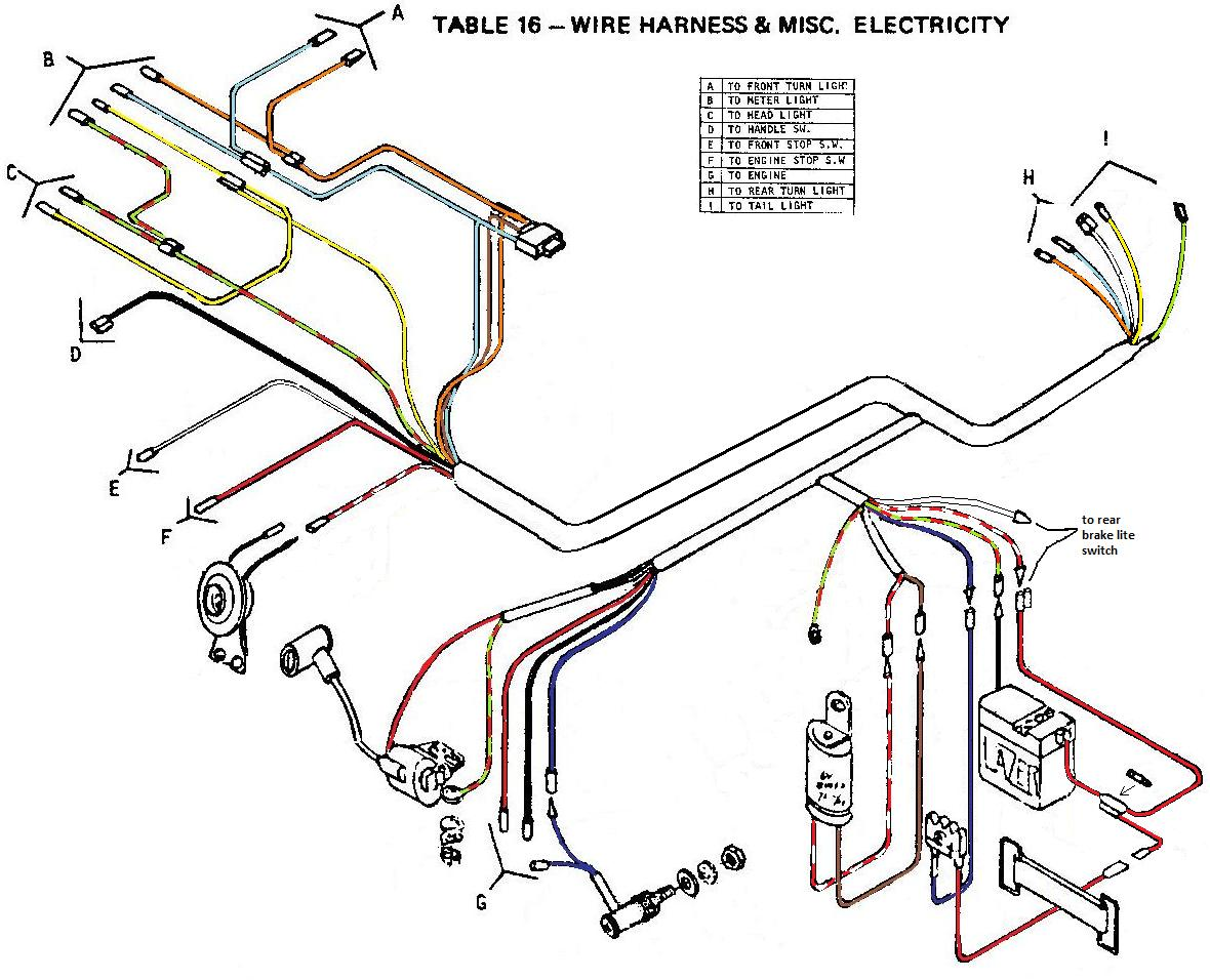 wiring diagrams 171 myrons mopeds