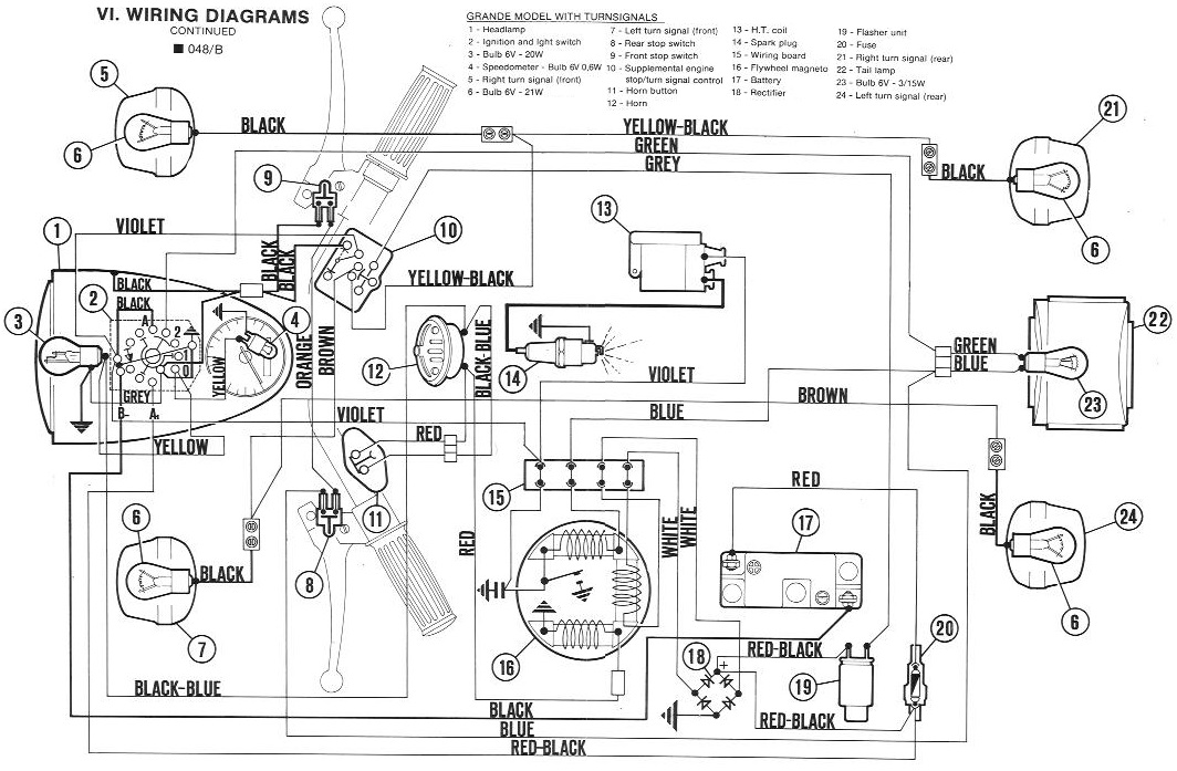 diagrams wiring   24v e scooter wiring diagram