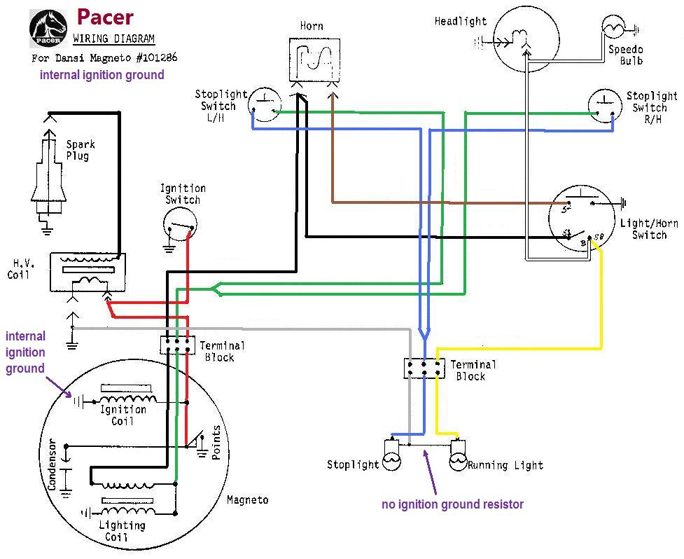 moped ignition wiring diagram wiring diagrams « myrons mopeds