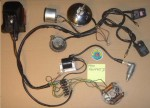 Puch 1980-82 (6-wire) Sport MkII, Newport II Magnum II, MkII w/square black switches CEV 2-bulb tail light