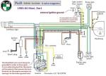 Puch 1983-86 (6-wire) Maxi, Dart with 6VAC voltage regulator 1-speed 0215 254 658