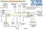Sachs Balboa M-4 (USA) Bosch 5-wire magneto internal ignition ground