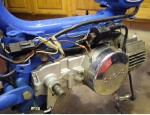 Sachs Suburban 1978-on shows magneto wires plug Sachs 505/1D engine Bosch 90mm 3-wire mag external ignition ground