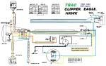 Trac Clipper, Eagle, Hawk 83-86 Dailim M56 Engine Bosch 3-wire magneto external ignition ground