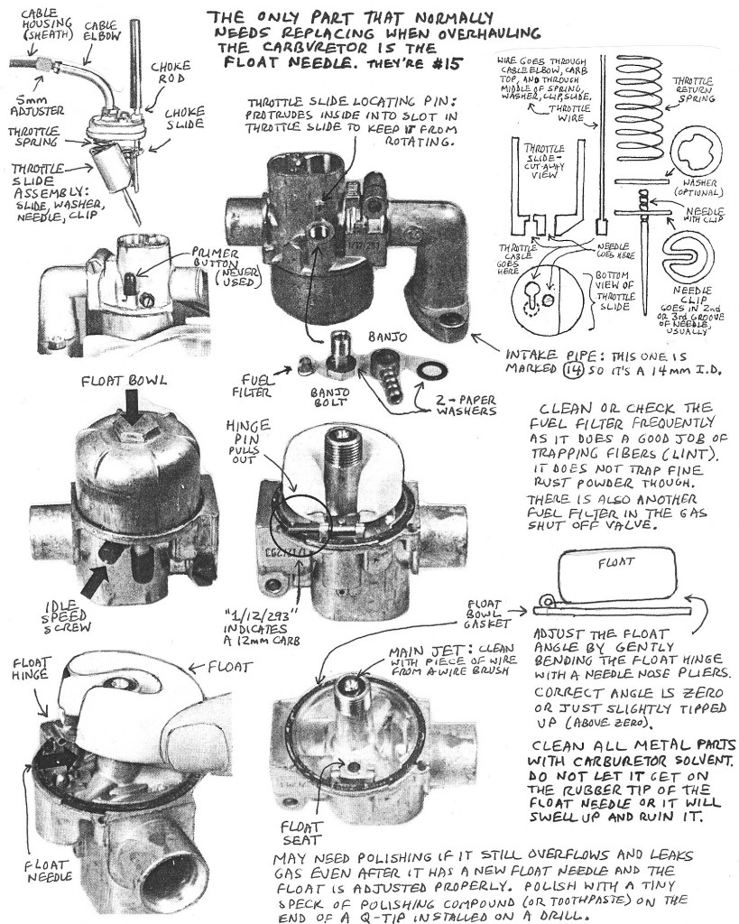 Bing Puch Carburetor on moped carburetor diagram