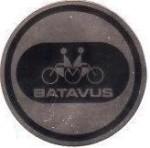 2. Batavus round 1970's, 2 inch, $?