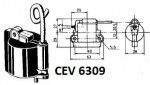 CEV 6309 Ignition Coil