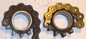 MB Front Sprockets With Rubbers