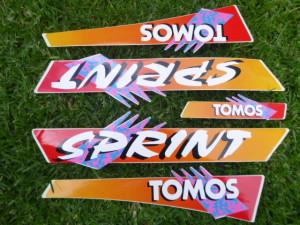 Tomos Sprint 1993-05 complete sticker set