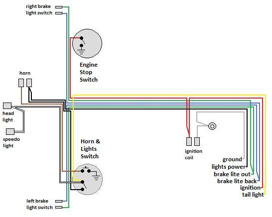 Universal Moped Wiring Harness2 wiring myrons mopeds puch maxi s wiring diagram at mifinder.co