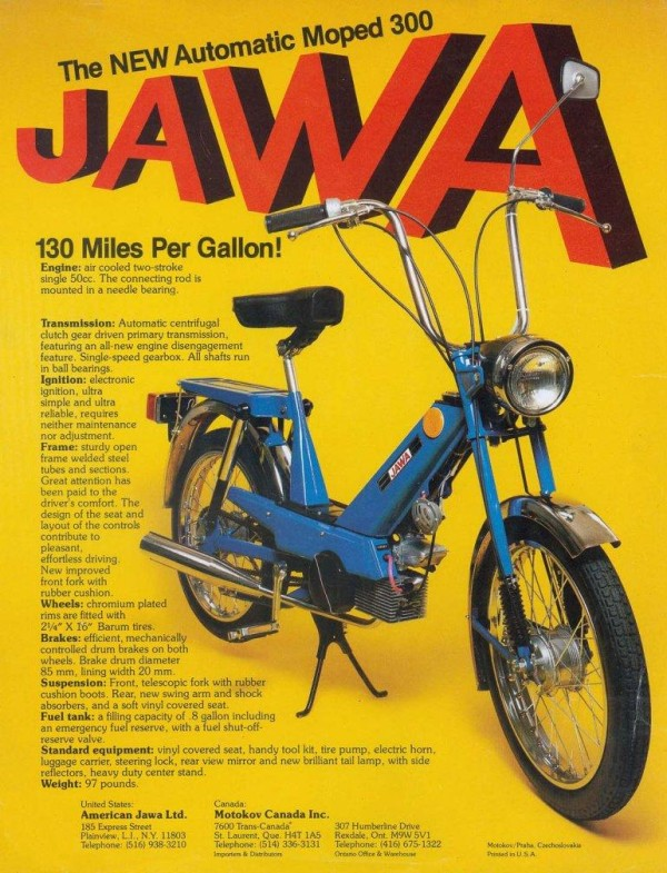1979 Jawa 207.300