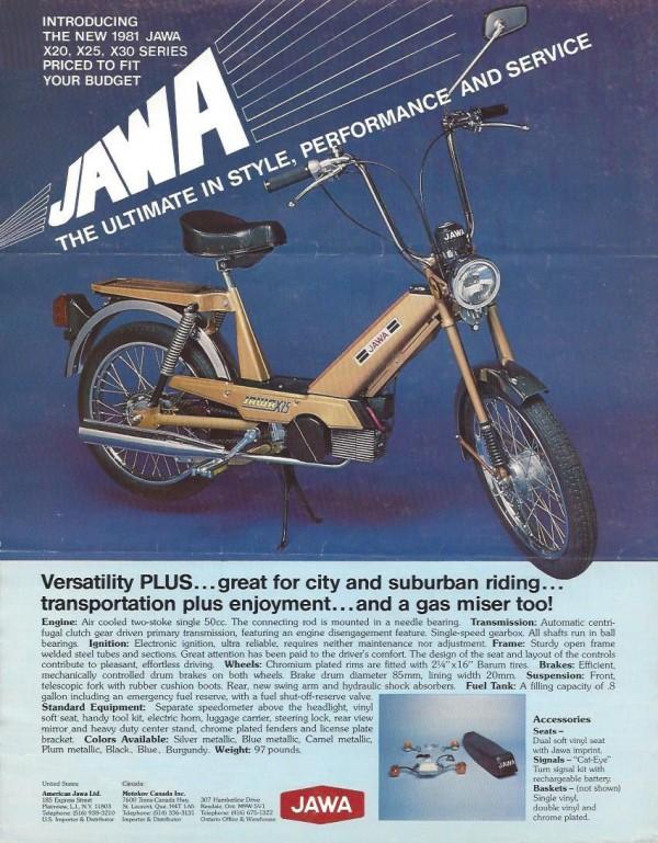 1981 Jawa Flyer