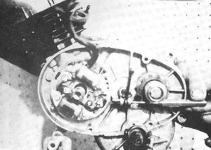 1965-69 50cc 4-speed engine Dansi magneto stator