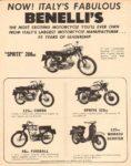 1965 Benelli Ad