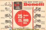 1967 Benelli Ad