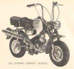 """1968 Benelli Dynamo Compact 50cc 4-speed foot shift, 9"""" rims Dellorto 14/12 carburetor"""