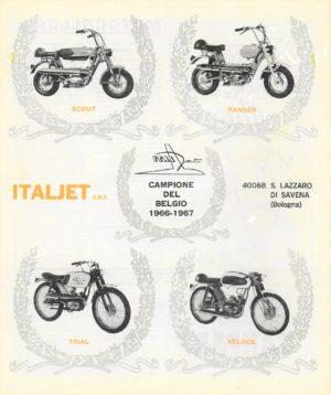 Italjet Scout Ranger Trial Veloce X on Morini Engine « Myrons Mopeds