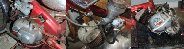 1969 Benelli Dynamo Trail 50 engine