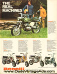 1972 Benelli Ad