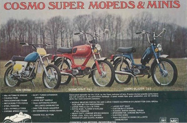 1977-79 Cosmo Mopeds
