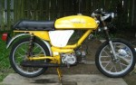 1977 Negrini MX Sport top tank tube frame Morini MO2 engine