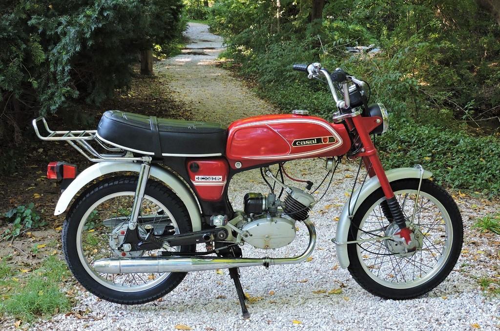 Strange Well! 1978 swinger 2 moped parts well, not