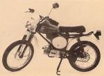 """1981 Negrini MX KPN City Cross - moped Morini M1 engine 19"""" front 17"""" rear"""