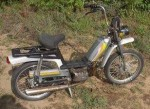 1983 AMF Roadmaster Model 140 solo seat metallic grey with silver Minarelli V1 engine 25 or 30mph versions