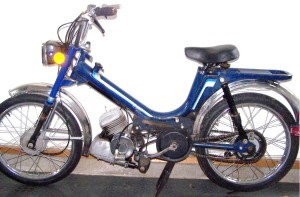 1995 KKM Mopet tube frame, Solo engine