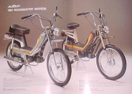 AMF Roadmaster mopeds 1980-1981 page 1-2