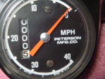 Murray speedometer made by Stewart Warner for Peterson