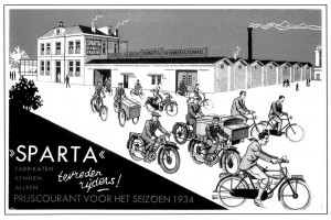Sparta factory in 1934
