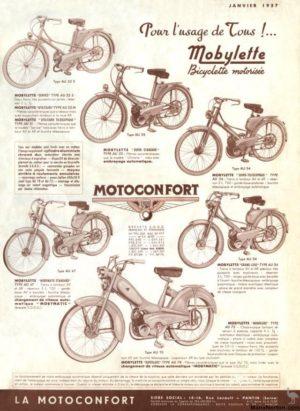 1957 Motobecane brochure