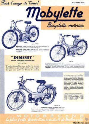 1960 Motobecane brochure